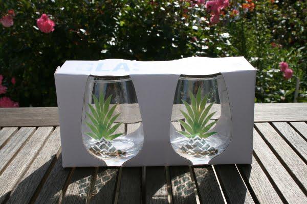 verres pour planter nos succulentes