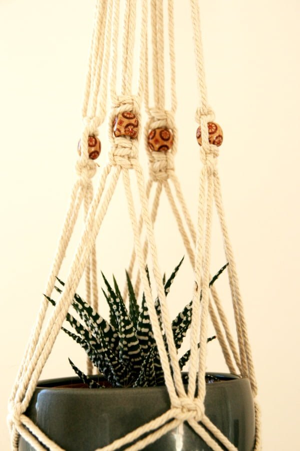 Diy suspension macram esprit la ta - Faire macrame suspension ...