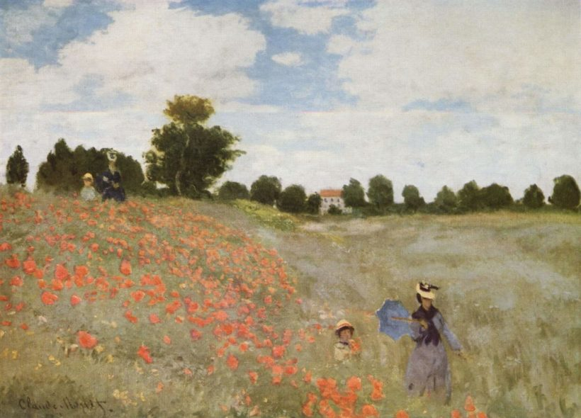 Les coquelicots - Monet