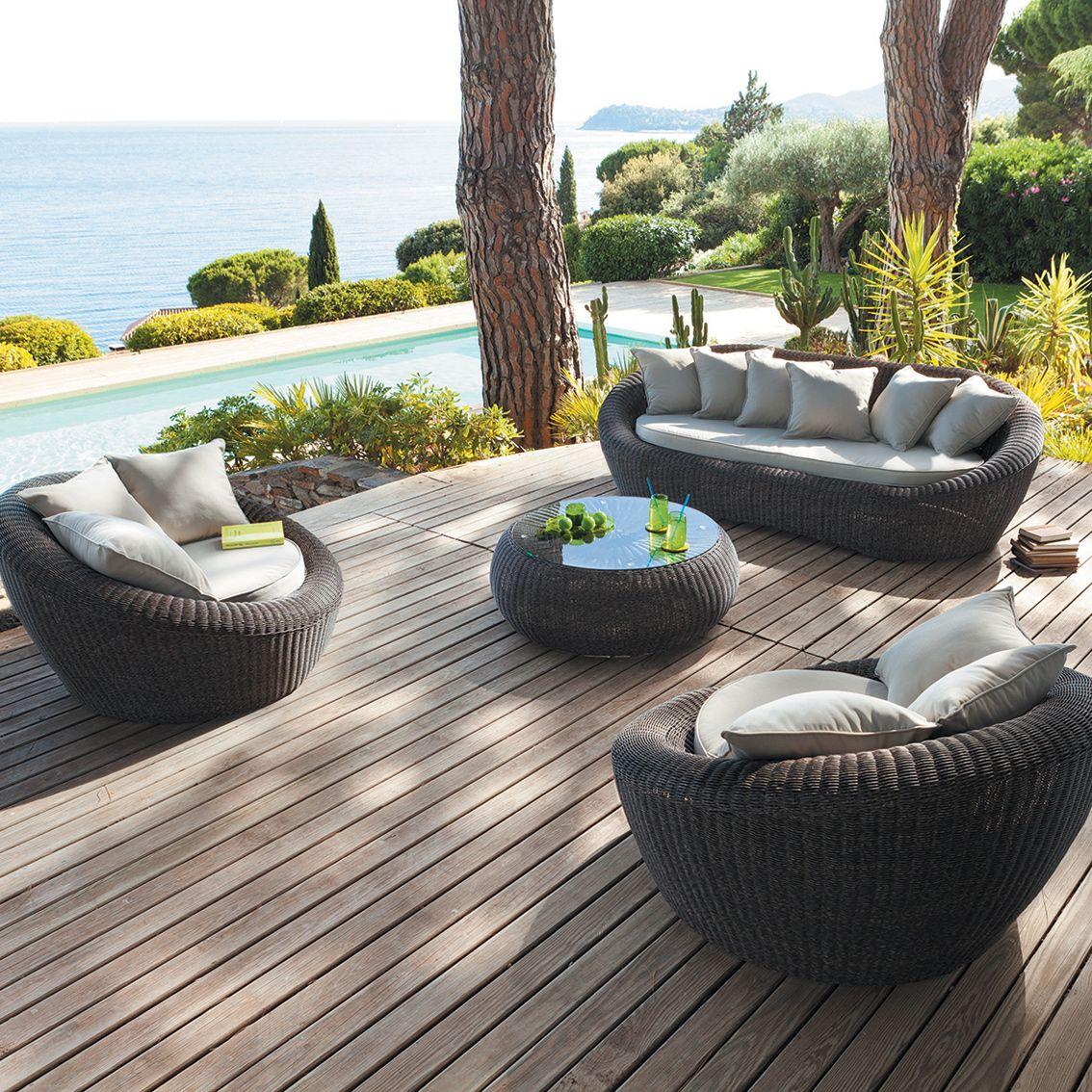 10 idées de salon de jardin - Esprit Laïta